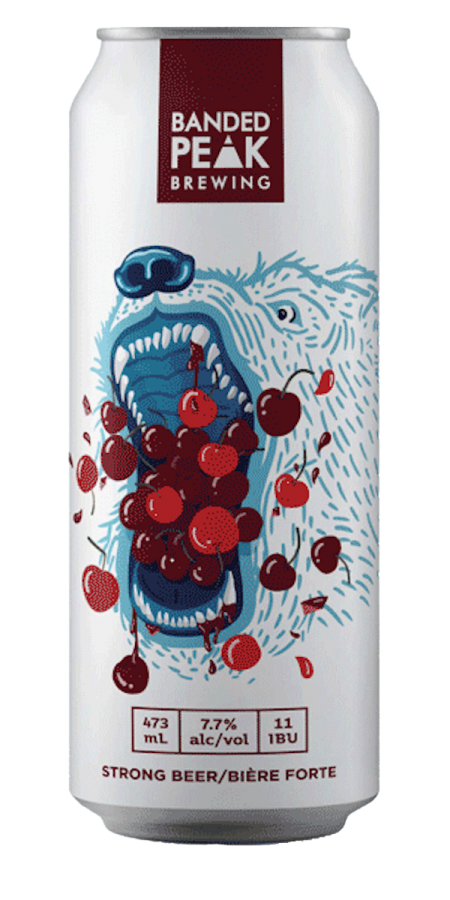 Tooth and Claw Cherry Saison